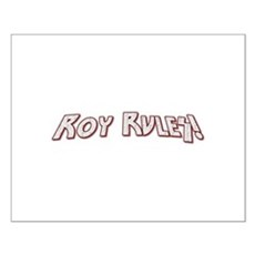 Roy Rules Small Poster