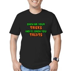 Show Me Your Tricks Mens Fitted Dark T-Shirt