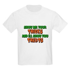 Show Me Your Tricks Kids Light T-Shirt