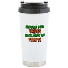 Show Me Your Tricks Stainless Steel Travel Mug