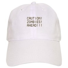 Caution Zombies Ahead Cap