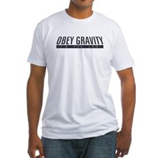 Obey Gravity Fitted T-Shirt