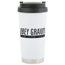 Obey Gravity Stainless Steel Travel Mug