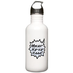 'Evil Laugh' Stainless Water Bottle 1.0L