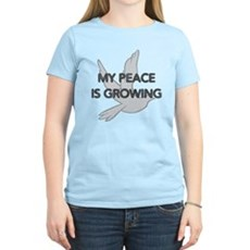 My Peace Is Growing Womens Light T-Shirt