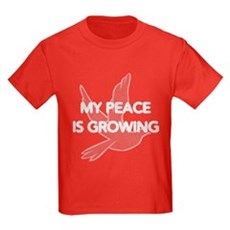 My Peace Is Growing Kids T-Shirt