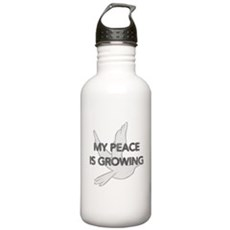 My Peace Is Growing Stainless Water Bottle 1 Liter