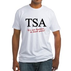 TSA Our Business Fitted T-Shirt