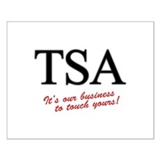 TSA Our Business Small Poster