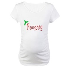 Naughty Maternity T-Shirt