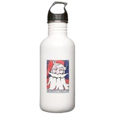 Vintage Merry Christmas Stainless Water Bottle 1.0