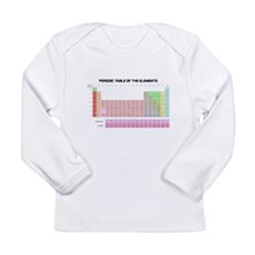 Periodic Table Long Sleeve Infant T-Shirt
