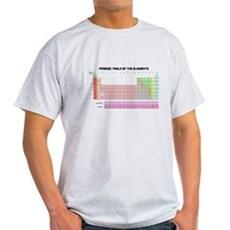 Periodic Table Light T-Shirt