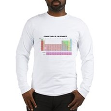 Periodic Table Long Sleeve T-Shirt