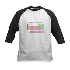 Periodic Table Kids Baseball Jersey