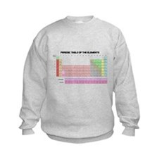 Periodic Table Kids Sweatshirt