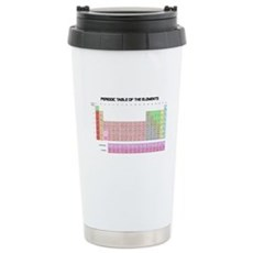 Periodic Table Stainless Steel Travel Mug