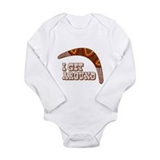 I Get Around Long Sleeve Infant Bodysuit