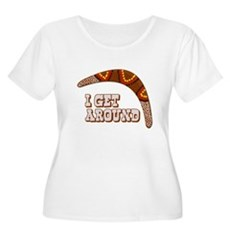 I Get Around Plus Size Scoop Neck Shirt