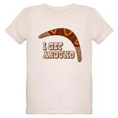 I Get Around Organic Kids T-Shirt