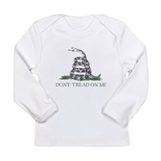 Don't Tread On Me Long Sleeve Infant T-Shirt
