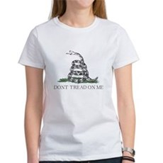 Don't Tread On Me Womens T-Shirt