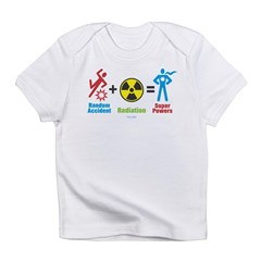 Super Powers Creeper Infant T-Shirt