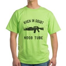 Noob Tube Green T-Shirt