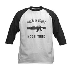Noob Tube Kids Baseball Jersey