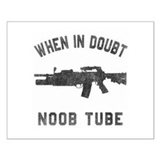 Noob Tube Small Poster