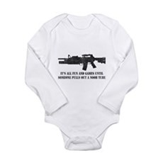 Fun and Games Noob Tube Long Sleeve Infant Bodysui