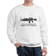 Fun and Games Noob Tube Sweatshirt