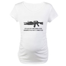 Fun and Games Noob Tube Maternity T-Shirt