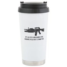 Fun and Games Noob Tube Stainless Steel Travel Mug