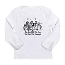Fah-Rah-Rah-Rah Long Sleeve Infant T-Shirt