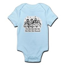 Fah-Rah-Rah-Rah Infant Bodysuit