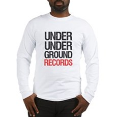 Under Under Ground Records Long Sleeve T-Shirt