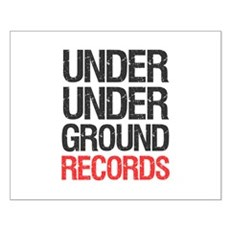 Under Under Ground Records Small Poster