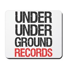 Under Under Ground Records Mousepad