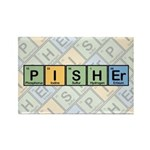 Pisher Elements Rectangle Magnet