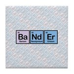 Elements of Banding Tile Coaster