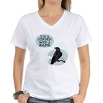 Singer with a Band Women's V-Neck T-Shirt