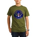Licensed Bird Bander Organic Men's T-Shirt (dark)