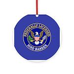 Licensed Bird Bander Ornament (Round)