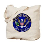 Licensed Bird Bander Tote Bag