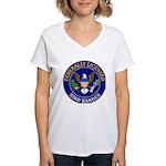 Licensed Bird Bander Women's V-Neck T-Shirt