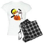 Halloween Boo Friends Women's Light Pajamas