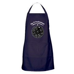 IT Wheel of Answers Apron (dark)