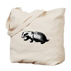 Honey Badger Doesn't Care Tote Bag