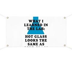 Lab Glass Banner